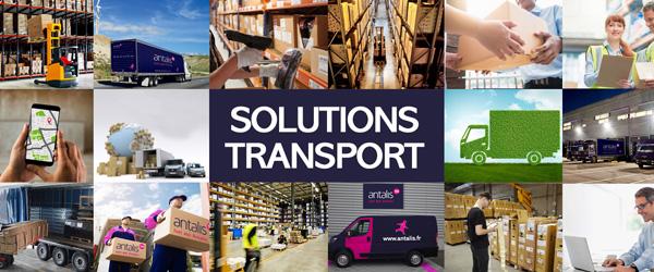Bannière de présentation solutions de transport - easytruck
